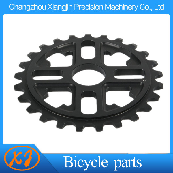 wholesale vehicle acessories cnc alumium 25T BMX Sprocket