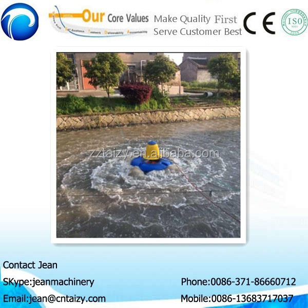 new production aquaculture pond aerator for fish / crucian carp / shrimp / fish aerator