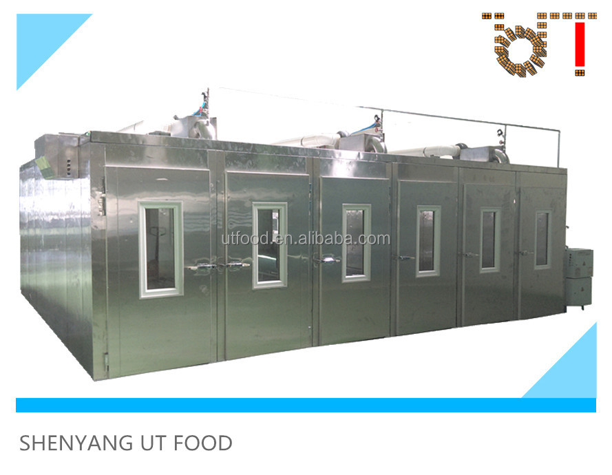 UT Food customized factory bakery equipment SUS304 automatic proofing room for bread dough