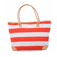 China online shopping woven tote bags canvas bag beach bag for women