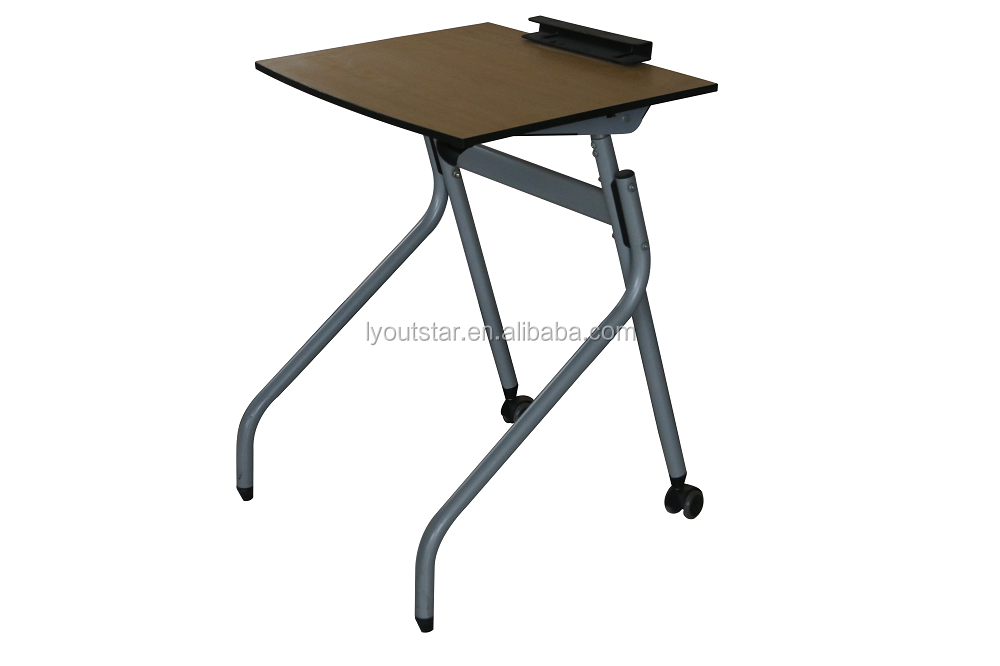 Hot Selling Adjustable Drafting Table/Commercial Furniture Used School Student Drawers Desk