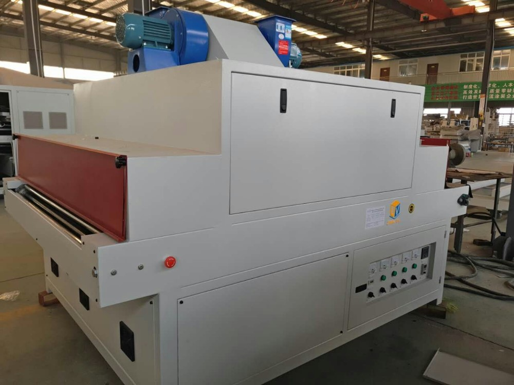 UV Coating Line for 1000mm Three Lamps UV Curing Machine