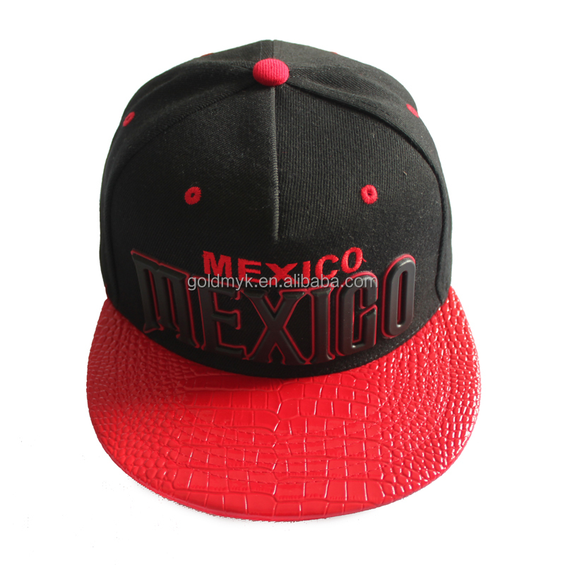 Custom high quality china snapback hats