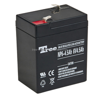 6v4ah lead acid rechargeable battery power storage for ups