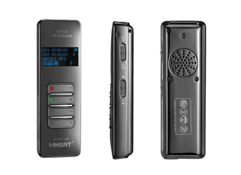 audio&video,hidden & spy digital bluetooth voice recorder with mobilephone & telephone call recording and dictaphone