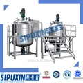 Sipuxin_Fix-type Stainless steel Double jacket heating vacuum homogenizer/mixer/ emulsifying