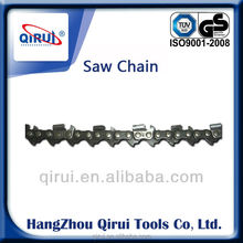 1/4, 3/8, .325, .404 chainsaw for guide bar,steel sawchain for sale