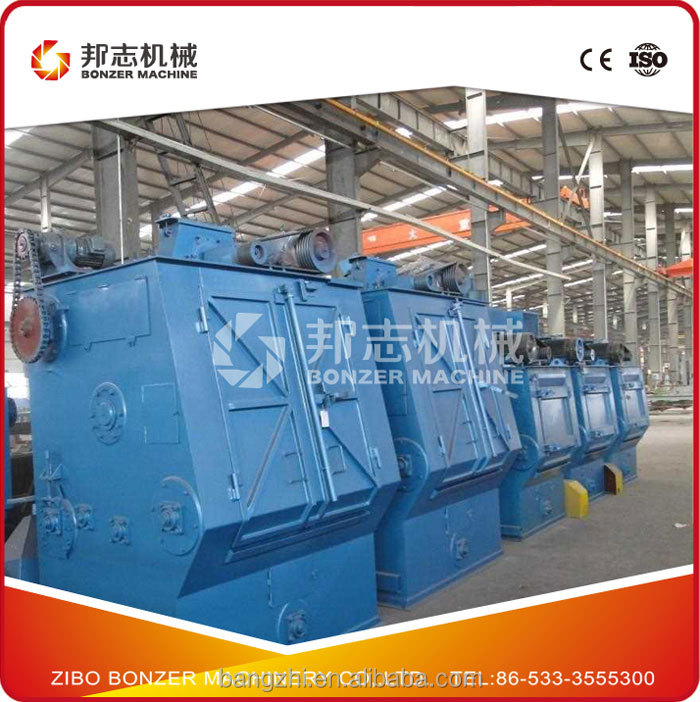 Q32 Series Rubber Belt Type Small Shot Blasting Machine Price