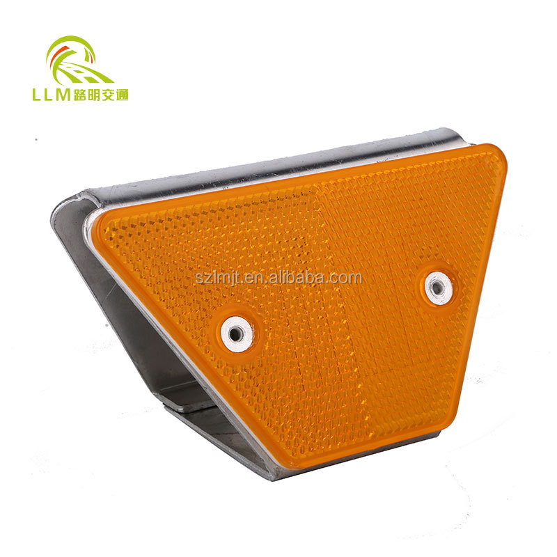 Road safety trapezoid guardrail reflector road reflective delineator