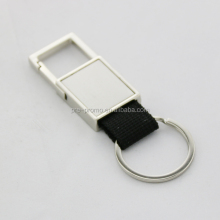 Promotional handmade custom leather keychain
