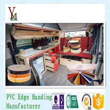 edge banding type pvc edging for camper van fitouts