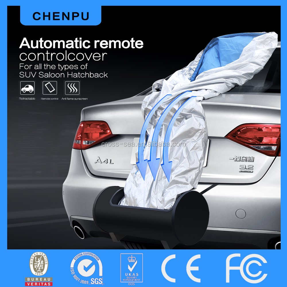 Good quality hail car cover sun proof auto car cover automatic electrical car cover for sell