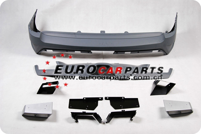 PP body kit fit for vogue to ST style design with PU over fenders+door plates full set 2014year
