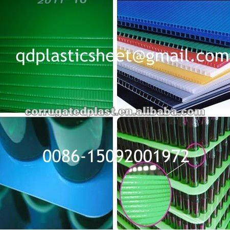 PP Corrugated Plastic Layer Pad Pallet Sheet