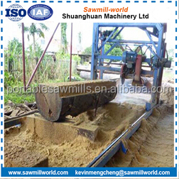 Portable Swing Blade Sawmill Double Blades Swing Blade Sawmill