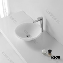 undermount china bowl sink/polymer sink/hand-washing trough
