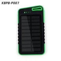 2016 charger plates wholesale 5000Mah waterproof solar portable phone charger