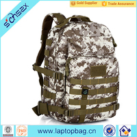 China laptops all over print camo hunting backpack