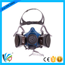 Protective Half Face Double Filter Safety Anti Gas Mask