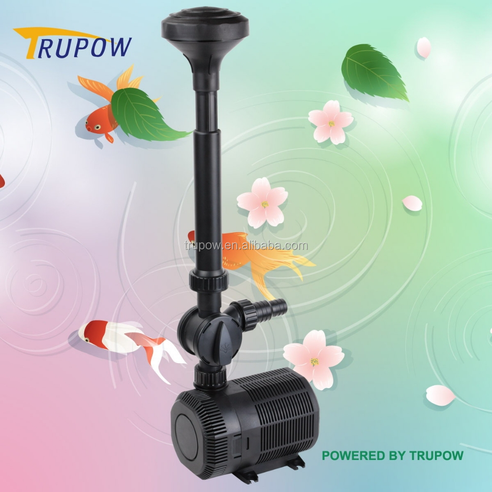 Flexible Adjusting Low Noise Garden Pond Water Fountain Pump