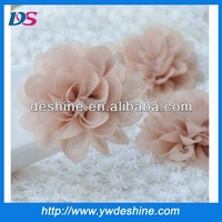New design wholesale DIY fabric flowers for clothing corsage flower H-332