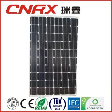 Made in China YueQing Ruixin Group 60 cells 156*156 Mono 255W solar panels price per watt