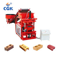 2-10 mobile kerbstone portable brick making machine for sale lightweight block line
