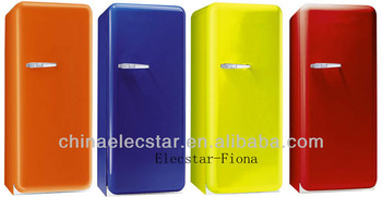Colorful Retro Style Fridge, 135/212/308/315/335L