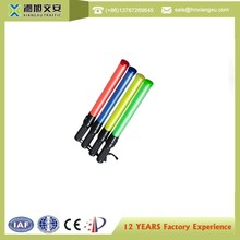 Manufactory cheap wholesale illuminated traffic baton CE