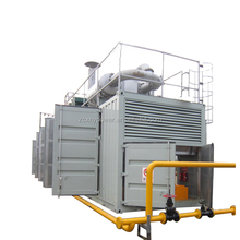 Farm and residents waste using CE ISO high efficient bio gas generator price