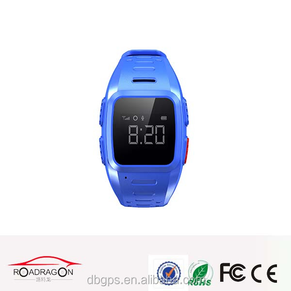 IOS/android gps smart running watch phone tracking device with waterproof IP67 and long time battery 500MAH TK5W