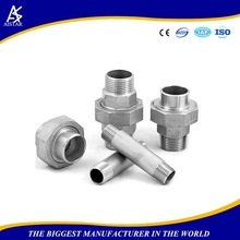 High quality elbow CNC lathe processed pipe fittings chart pipe clamp fittings