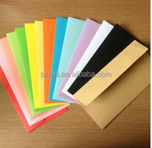 customized letter envelope, different colours envelope, low price envelope manufacturer and exporter