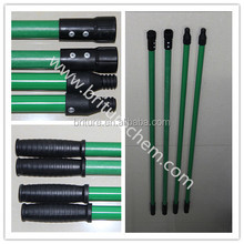 fiber glass Mop handle with connector