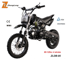 Black 125cc apollo orion dirt bike