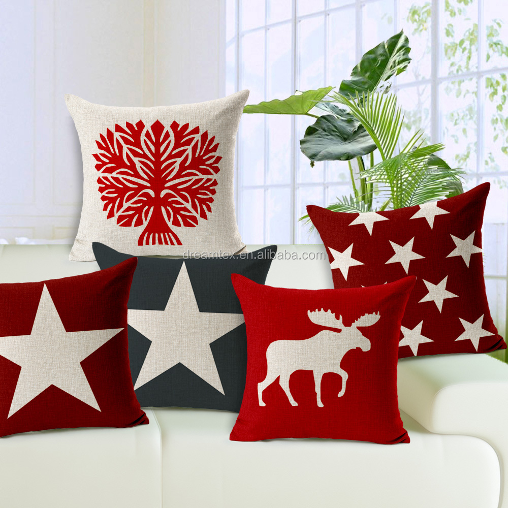 Stars ,milu portaits cushion cover for car and office chair
