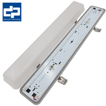Hot sale 7 adjustable levels of emergency watts LED Emergency batten light with high-grade PC cover fitting