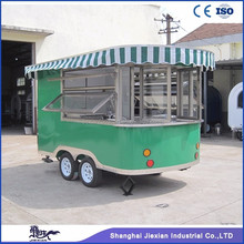 JX-CR320 Jiexian CE qualified outdoor mobile prefab coffee shop kiosk booth design for sale