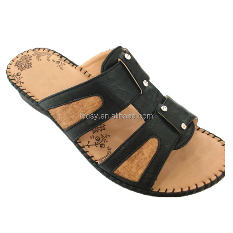 Women platform shoe summer flip flop style wedge sandals chappals