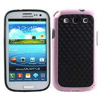 Hybrid Double Color tpu gel skin case for samsung galaxy s3 i9300
