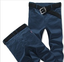 zm21549a Latest design men cotto pants pure color men trousers models