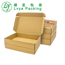 China Wholesale Custom printed Cheap High Quality clothing express cardboard paper corrugated Box packaging