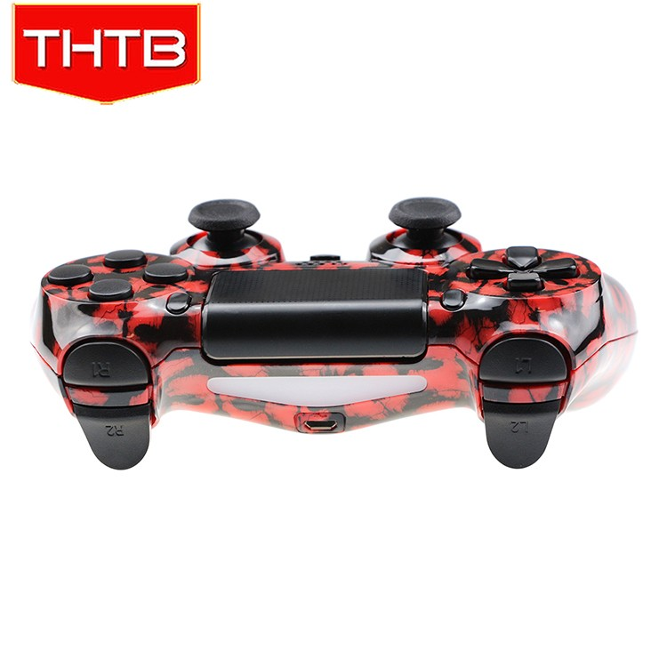 Red ghosts replacement shell for PS4 console controller housing case