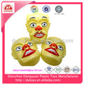 Novelty party gift plastic clown mask