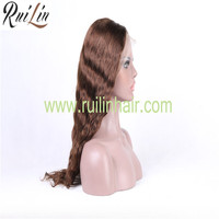 Wholesale Price Cuticle Hair Russian Hair Full Lace Wig With Baby Hair