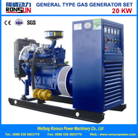 20KW Natural Gas Generator Set with Soundproof Canopy