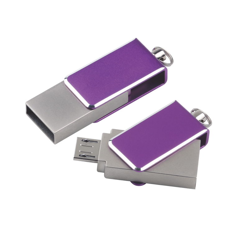 2016 New model metal case OTG USB disk