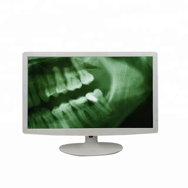 White medical grade Full HD 21.5 inch <strong>monitor</strong> with vga hd dvi av usb inputs