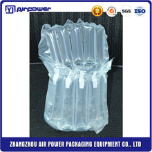 Waterproof Recyclable Shock-proof light air pillow column cushioning packaging bag