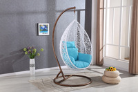 garden Aluminium baby swing hanging egg chair